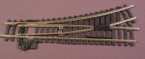 Oo Scale Gauge Hornby R612 Left Hand Point Switch Track, Made In England