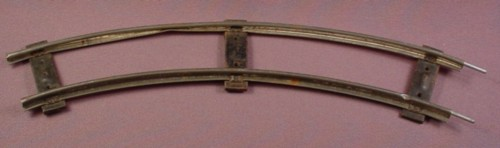 S Scale Gauge Vintage Gilbert Curved Track, Railroad Train