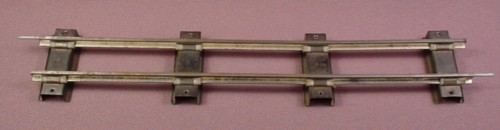 "S Scale Gauge Vintage Gilbert 10"" Straight Track, Railroad Train"