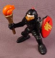 Fisher Price Black Knight With Torch And Shield, 7121 77121 Great Adventures