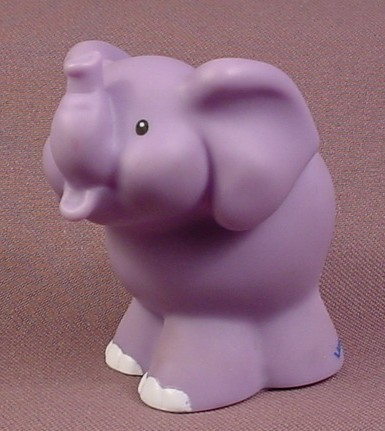 Fisher Price Little People Elephant Train With Bird On Back Makes Noises