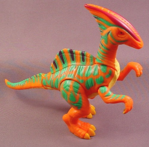 Fisher Price Imaginext Whip The Parasaurolophus Dinosaur, Tail & Legs Are Jointed
