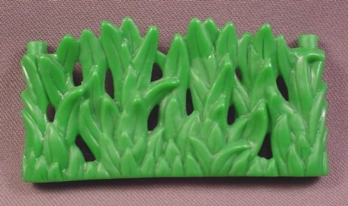 Fisher Price Imaginext Vine Grass Hedge Fence, H5341 T-Rex Mountain, 3 1/2 Inches Long