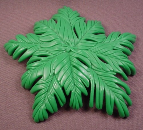 Fisher Price Imaginext Green Palm Tree Top, Leaves Fronds, Buccaneer Bay