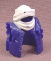 Fisher Price Imaginext Purple Cloak Cape Cowl With White Head Wrapping, B1472