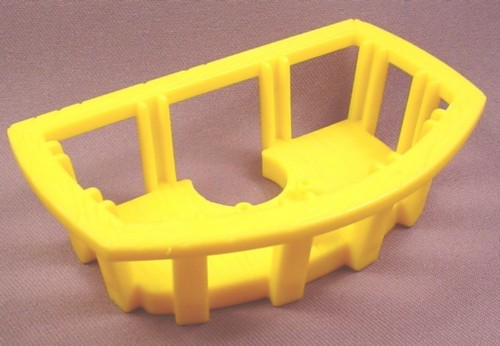 Fisher Price Imaginext Yellow Crows Nest Platform With Railing, L1284 Pirate Ship
