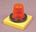 Lego Duplo 41195 Yellow Roof Light Transparent Orange Cone Dome 3272 3276 3297 3593