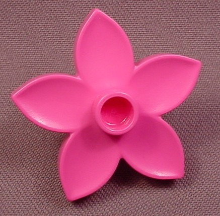Lego Duplo 6510 Pink Flower With 5 Petals, Zoo Playhouse, Winnie The Pooh