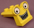 Lego Duplo 40668 Yellow Scoop Vehicle Front With Eyes & Smile Pattern, 3272 3276 3297