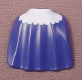 Playmobil Dark Blue Child Size Half Length Cloak Cape With White Trim, 4137 4257