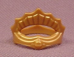 Playmobil Gold Child Size Crown With A Single Ornamental Arch, 3032 4137 4154 4257 4330 4814 5002
