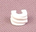 Playmobil White Triple Ribbed Arm Cuff, 3368 3931 3950 3955 3993 4058 4150 4152 4155 4614