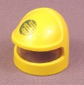 Playmobil Yellow Astronaut Helmet With Built In Clear Visor & Sticker, Playmospace, 3534
