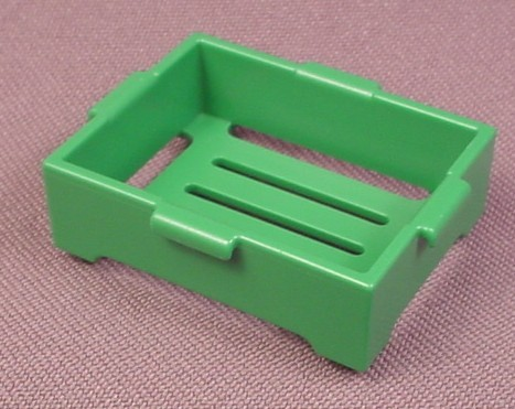 Playmobil Green Deep Crate Tray Made Of Slats, 3202 3204 7780