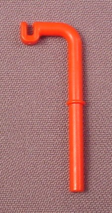 Playmobil Red Pole With Hook For Medical IV Bag, 3130 3224 3789 3845 9987
