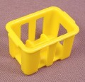 Playmobil Yellow Case Or Crate For 6 Bottles, 3069 3202 3204 3230 3254 3694 3775 3848
