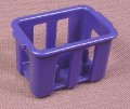 Playmobil Dark Blue Case Or Crate For 6 Bottles, 3200 3202 3204 3254 3777 3989 4178 4327
