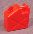 Playmobil Red Jerry Can Jerrycan Gas Can With Hand Grip, 3184 3249 3277 3851 4078 4175
