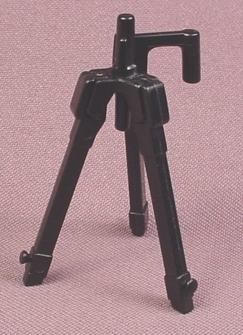 Playmobil Black Camera Tripod With Legs That Fold Up, 2 3/8 Inches Tall, 3189 3364 3413 3414 3738