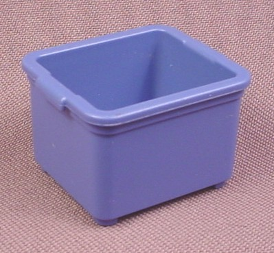 Playmobil Blue Tote Box, 1 1/4 Inches Wide, 3204 3217 3242 4178 4189 4843 4845 4846 5027 5223 5337