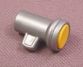 Playmobil Silver Gray Flashlight With Yellow Lens, 3170 3329 3399 3903 3904 4076 4087