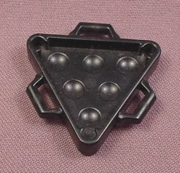 Playmobil Black Triangular Cannonball Holder Rack, 3029 3133 3174