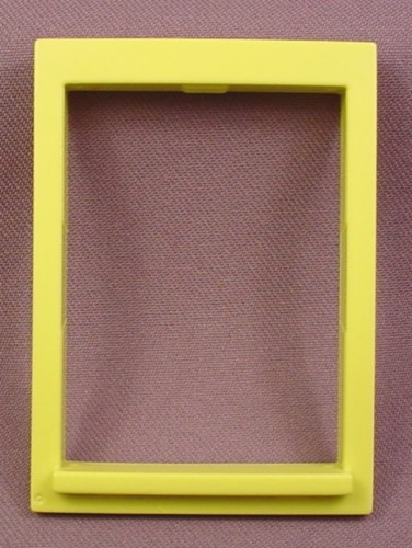 Playmobil Lime Green Yellow Window Frame With Ledge 3130