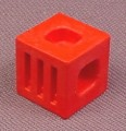 Playmobil Red System X Connecter Block, 3092 3130, 30 21 5240