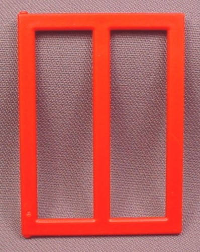 Playmobil Red 2 Pane Window With Hinge Points, 3130, 30 23 6340
