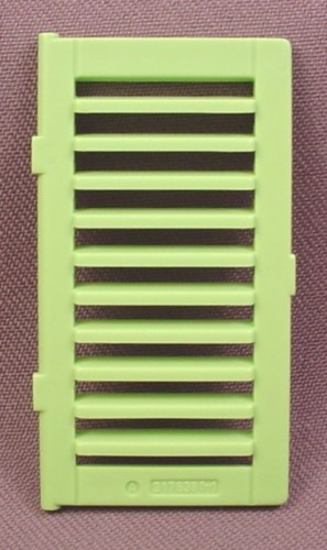 Playmobil Lime Green Window Shutter With Slats,  4064 5759