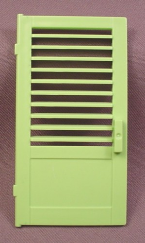 Playmobil Lime Green Door With Slats Or Louvers In The Top Section 3 5/8 Inches Tall 4064 5759 : door slats - Pezcame.Com