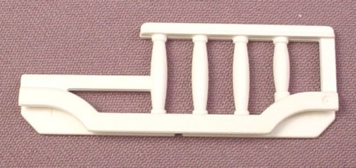 Playmobil White Rail With A Low Side For A Child Size Victorian Bed, 5312 5328 6250, 30 61 1110