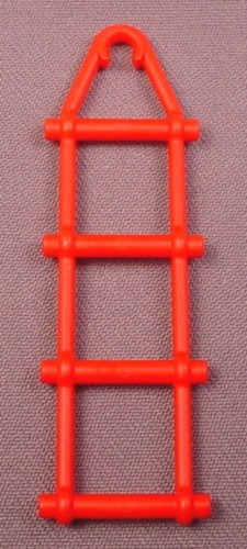 Playmobil Red Rope Ladder With 4 Rungs, 3 1/4 Inches Tall, 3230, 30 23 2240