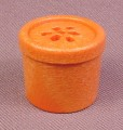 Playmobil Dark Orange Brown Pot With 7 Holes For Ferns Or Fronds