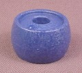 Playmobil Blue Round Barrel Shaped Flower Pot With Large Hole