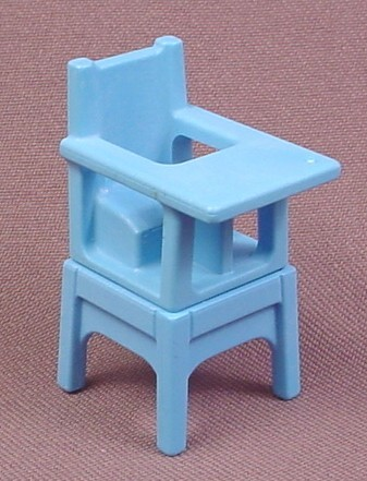Playmobil Blue Victorian Baby Highchair With Base, High Chair, 4145