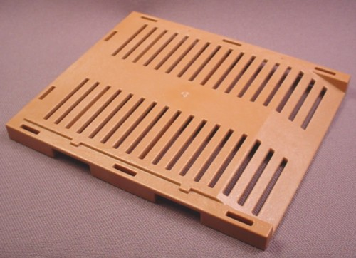 Playmobil Light Brown Cage Floor With Ramp Edge, 4175, 30 27 6460