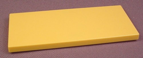 Playmobil Yellow Or Light Orange Table Top With Clips To Attach To Legs