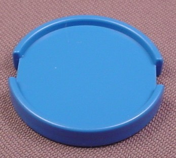 Playmobil Blue Round Tray That Fits Into A Hanging Frame, 1 3/8 Inches Wide, 3072 3909, 30 21 1670