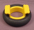 Playmobil Black Rubber Tire & Seat For Swing Set, 3821 4070 7328