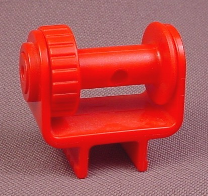 Playmobil Red Winch Or Hoist With Ratchet Spool, 3063 3070 3182