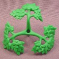 Playmobil Green 3 Branch Bush Large Section With Leaves, 3136 3157A 3157B 3217 3241 3254 4056 4093