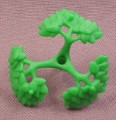 Playmobil Green 3 Branch Bush Medium Section With Leaves, 3136 3157A 3157B 3217 3241 3254 4008 4056