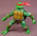 TMNT Combat Warrior Raph Action Figure, 2005 Playmates, Squeeze Legs to make Arms Move