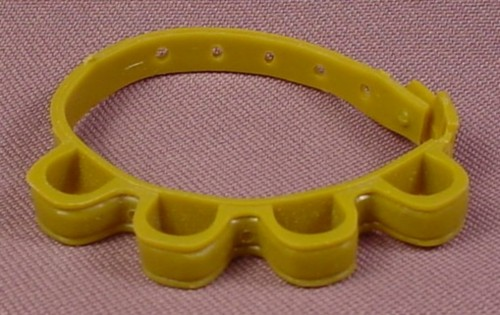 TMNT Green Ammo Belt Accessory for Ace Duck Action Figure, 1989 Playmates