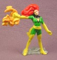 X-Men Rogue PVC Figure on Base, 2 1/2