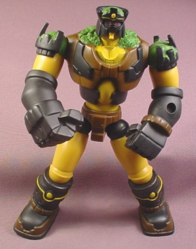 "Bakugan Gorem Action Figure, 7 1/2 ""  tall, 2008 Spinmaster, Battle Brawlers Deluxe"
