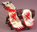 Papo Horse for Red Dragon King Figure, 3 7/8