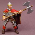 Papo Medieval Foot Soldier with BattleAxe Figure, 3 1/2