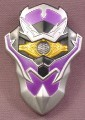 Power Rangers Shield with Flashing Lights Accessory for Mystic Light Force Knight Wolf